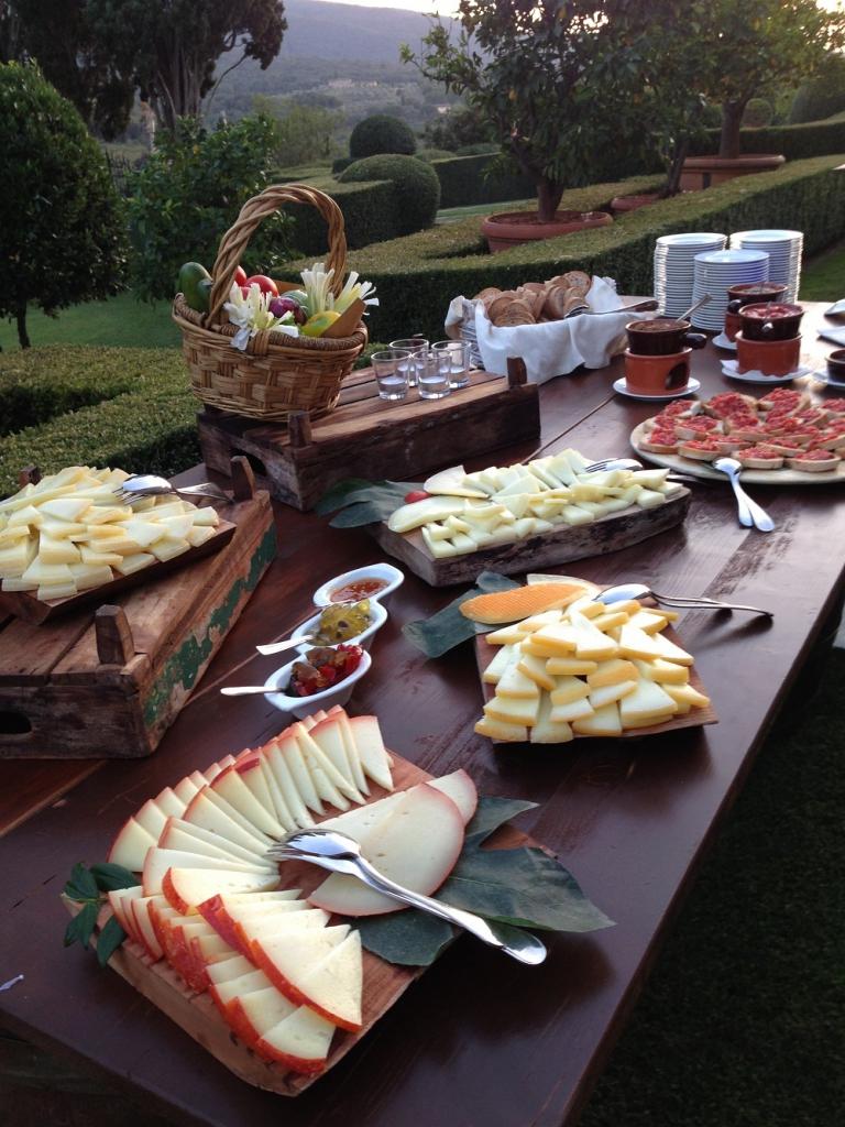 Catering in stile toscano