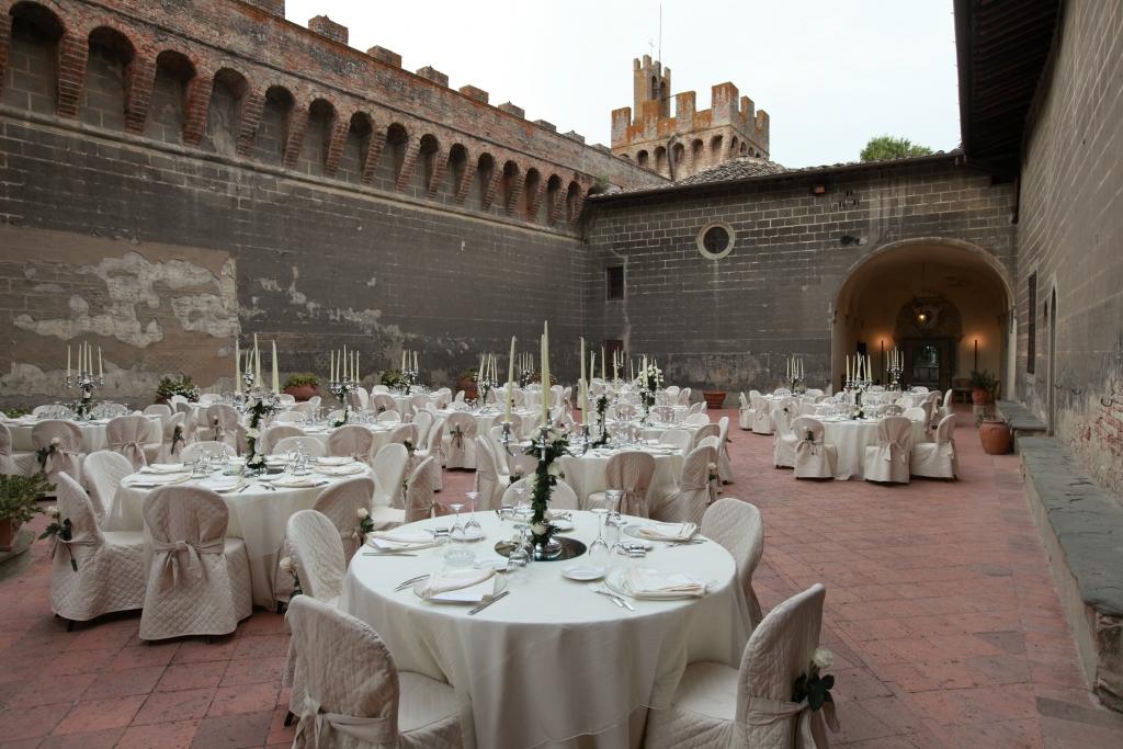 Tavoli Matrimonio in toscana